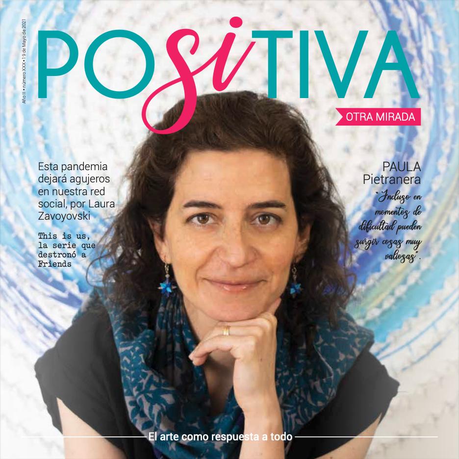Paula Pietranera - Revista Positiva